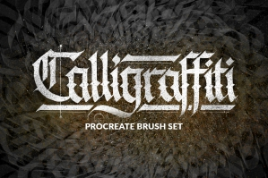 Calligraffiti-Procreate-Brushes-cover