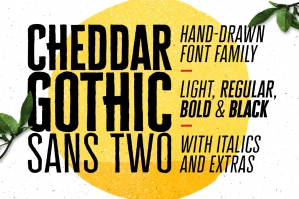 Cheddar-Gothic-Sans-Two-Font-Family-cover