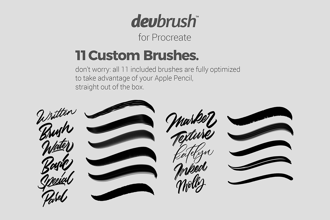DevBrush for Procreate