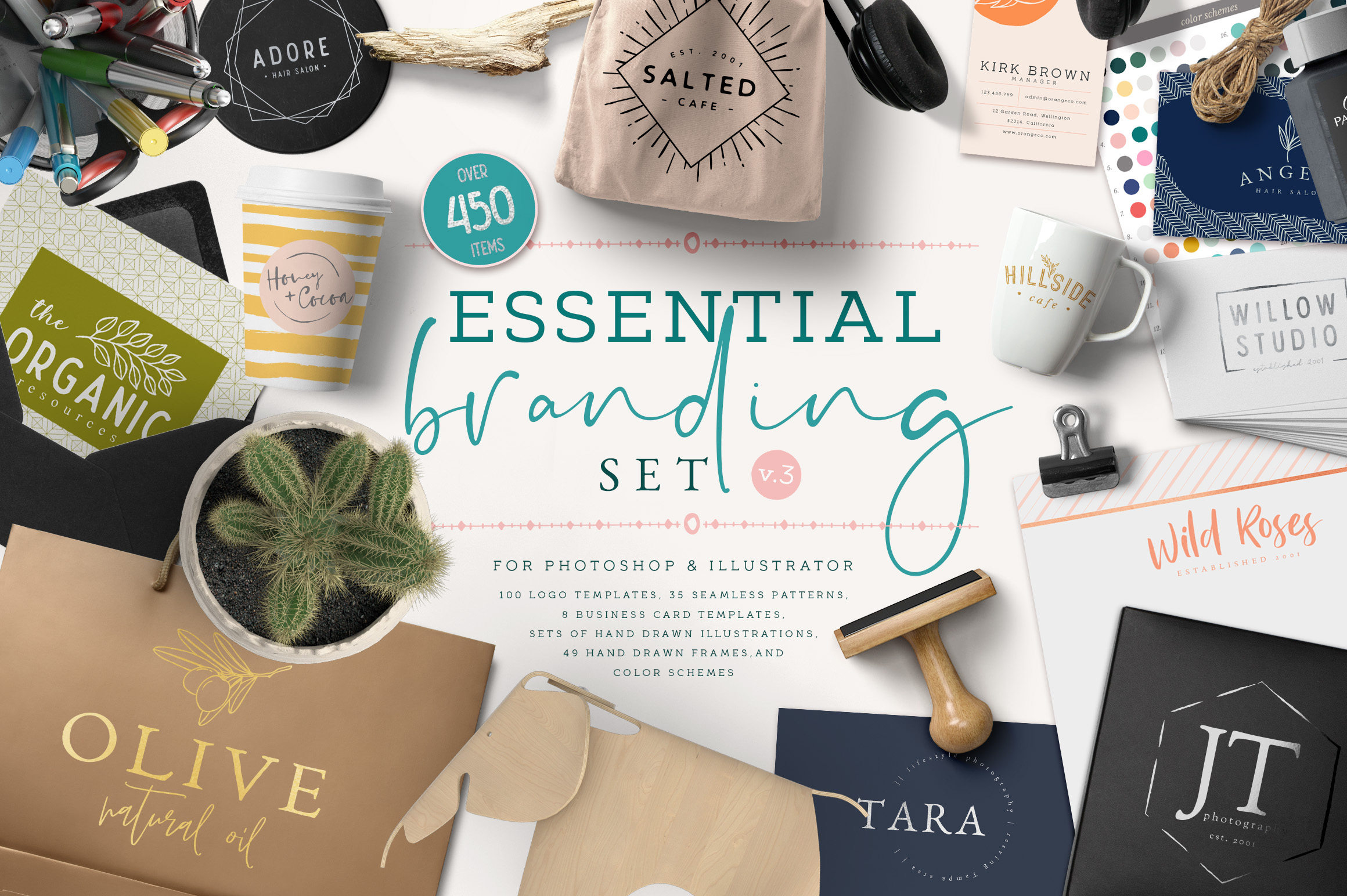 Essential Branding Set Volume 3