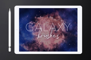 Galaxy-Brushes-For-Procreate-cover