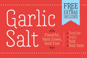 Garlic-Salt-Font-Family-cover