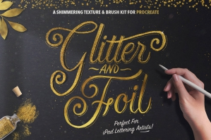 Glitter-and-Foil-Kit-For-Procreate-cover