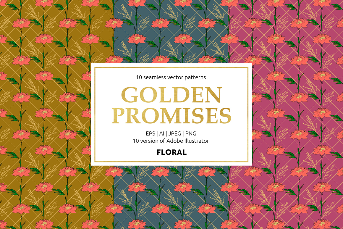 Golden Promises Patterns Collection