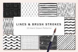 Lines and Brush Strokes