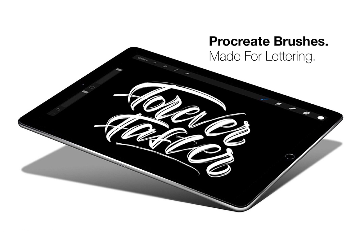 Procreate Lettering Brush Pack 2.0