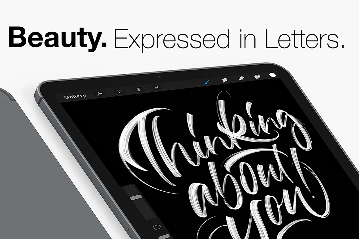 Procreate Lettering Brush Pack 3