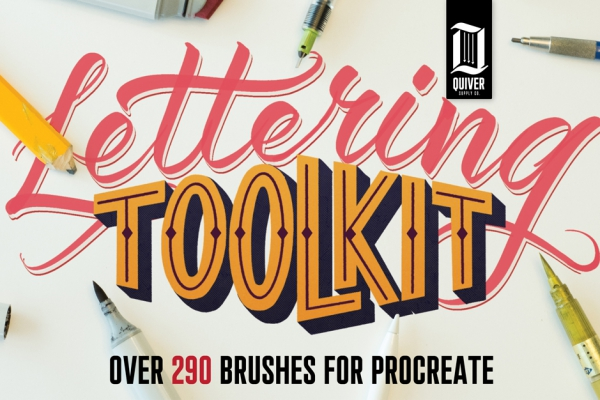 Procreate Lettering Toolkit