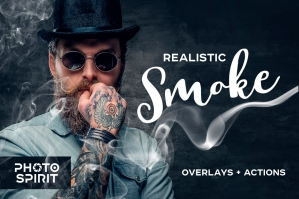 Realistic-Smoke-Overlays-Photoshop-cover