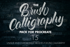 The-Brush-Calligraphy-Procreate-Pack-cover