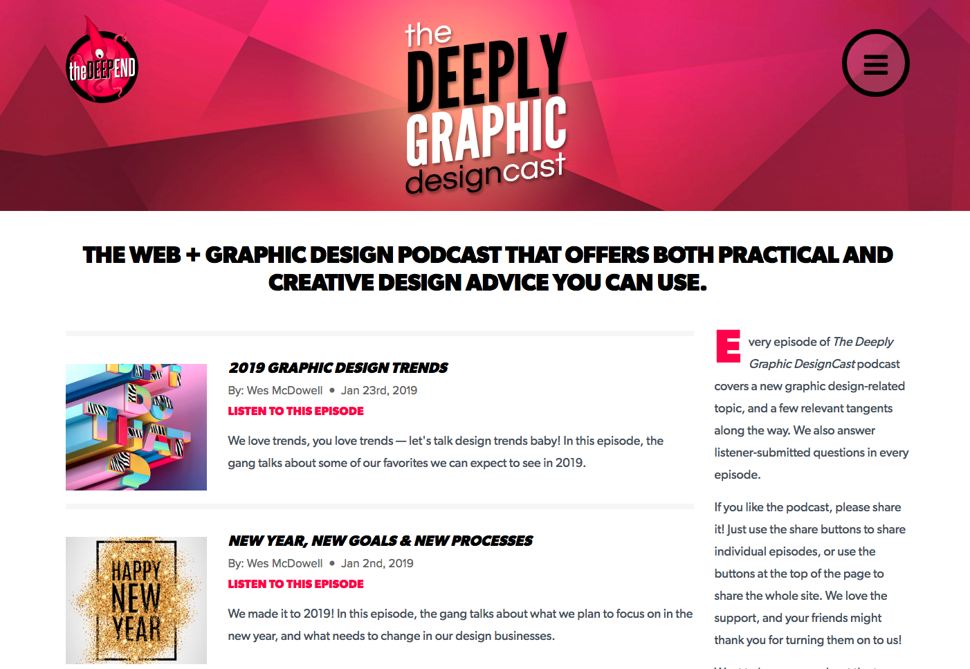 Best Graphic Design Podcasts to Listen to in 2019