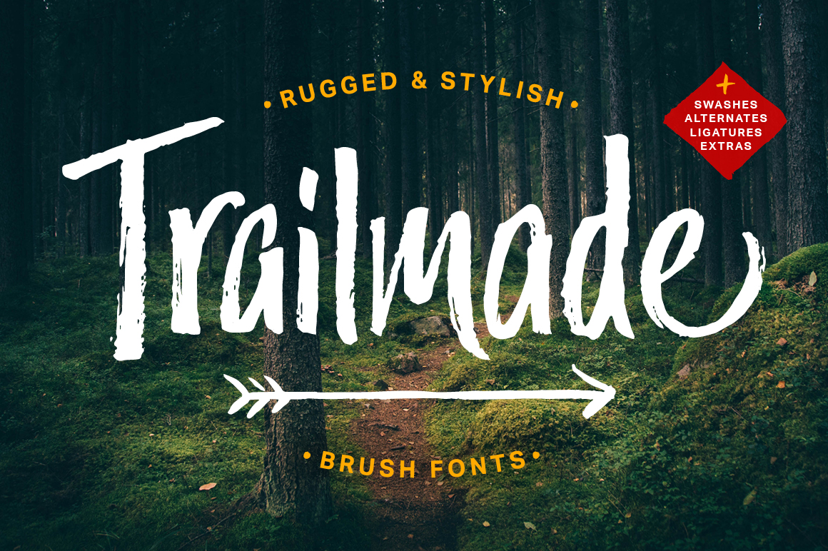 Trailmade Font Family