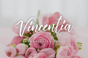 Vincentia-Handstylish-Font-cover