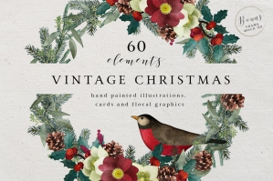 Vintage-Christmas-Watercolor-Set-cover