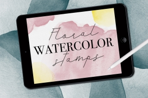 Watercolor-Stamp-Brushes-For-Procreate-strip1