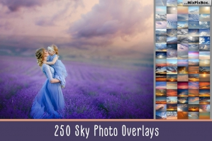 250 Sky Photo Overlays