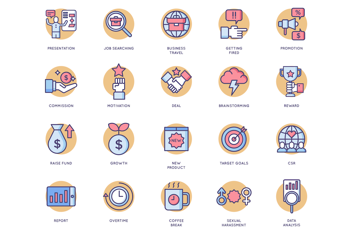 85 Business Icons