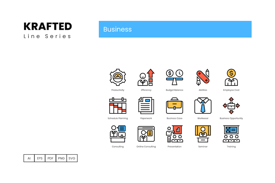 90 Business Icons