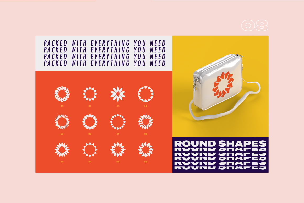 96 Geometric Shapes And Logo Marks VOL.2