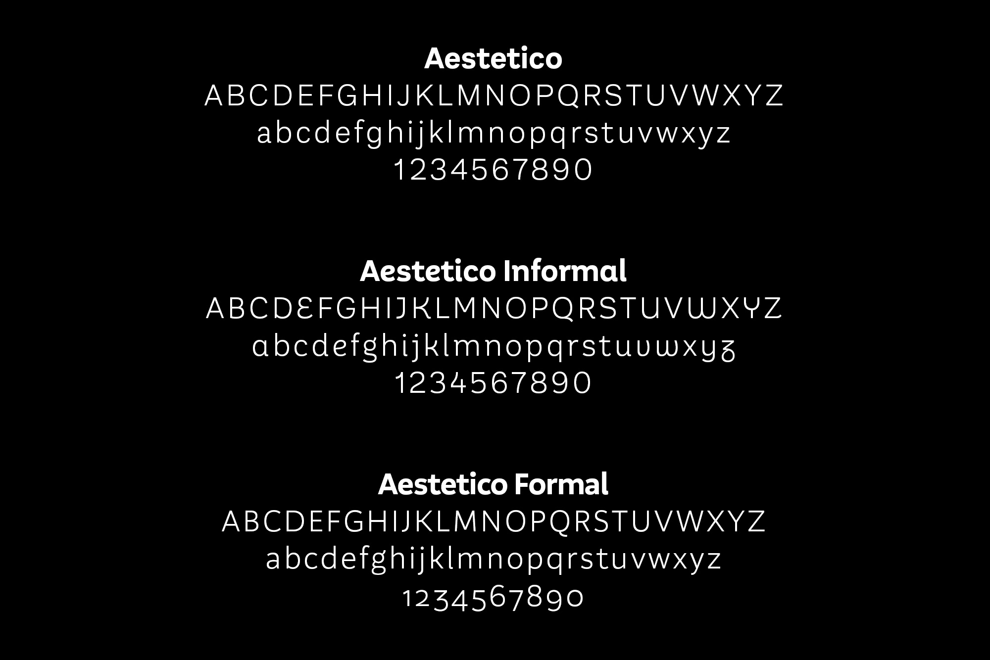 Aestetico: A Modern Take On A Classic Sans Serif  Aestetico Font by Latinotype Aestetico strip3