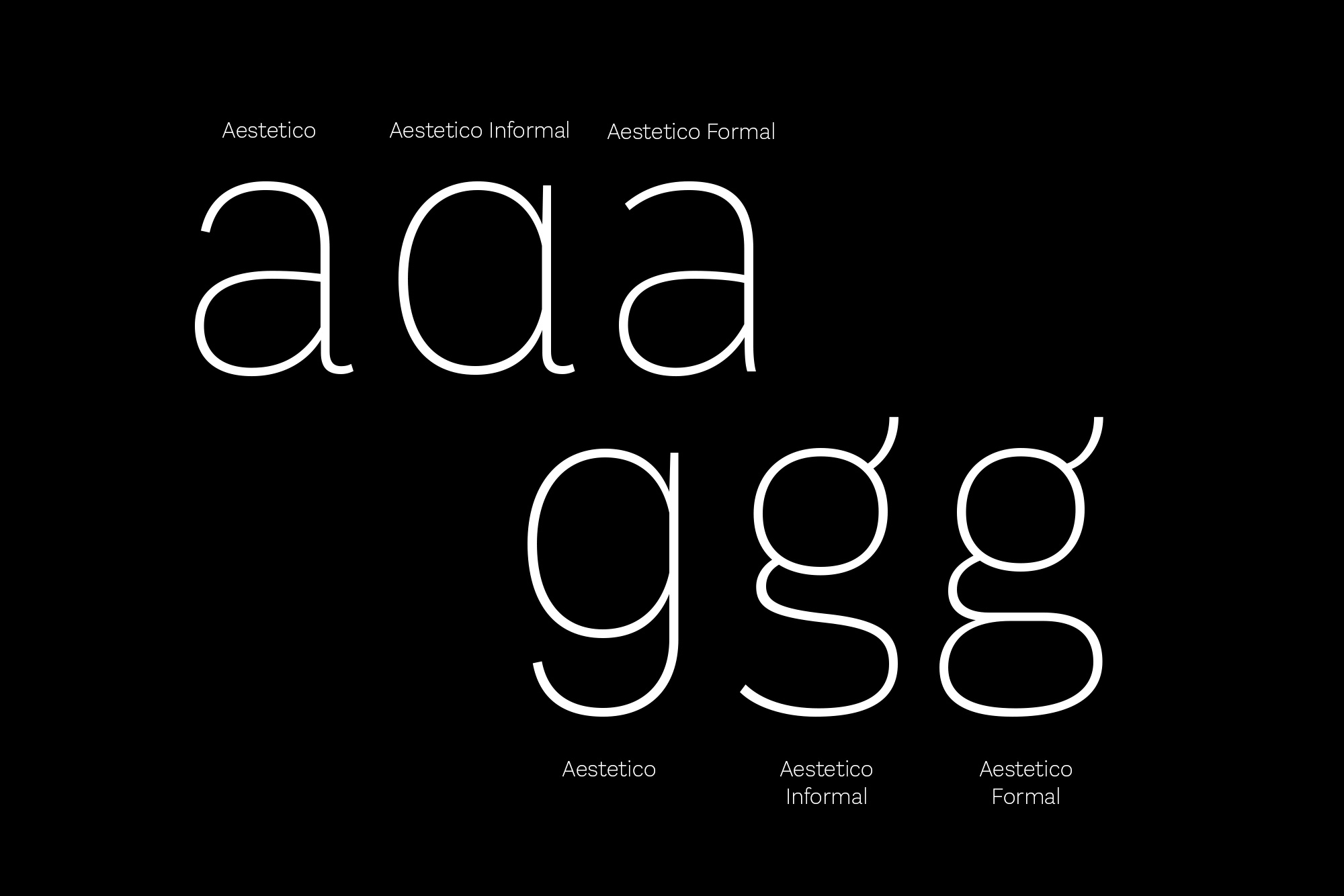 Aestetico: A Modern Take On A Classic Sans Serif  Aestetico Font by Latinotype Aestetico strip4