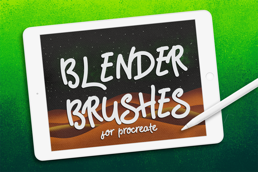 Blender Procreate Brushes