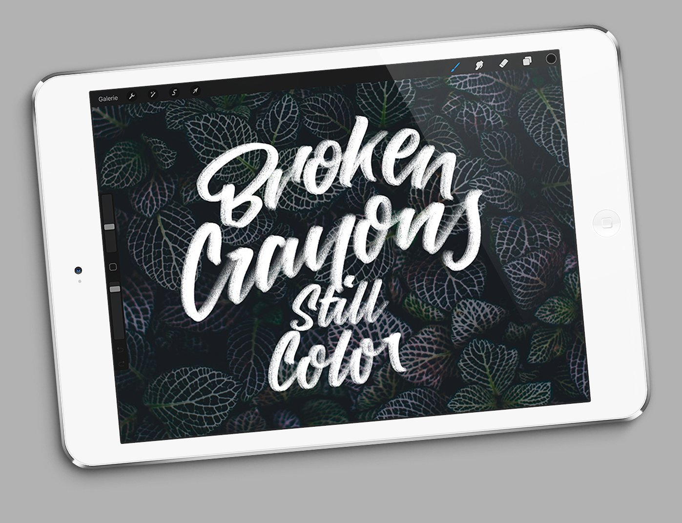 Crayola Brushpack for Procreate App