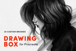Drawing-Box-Procreate-Brushes-cover