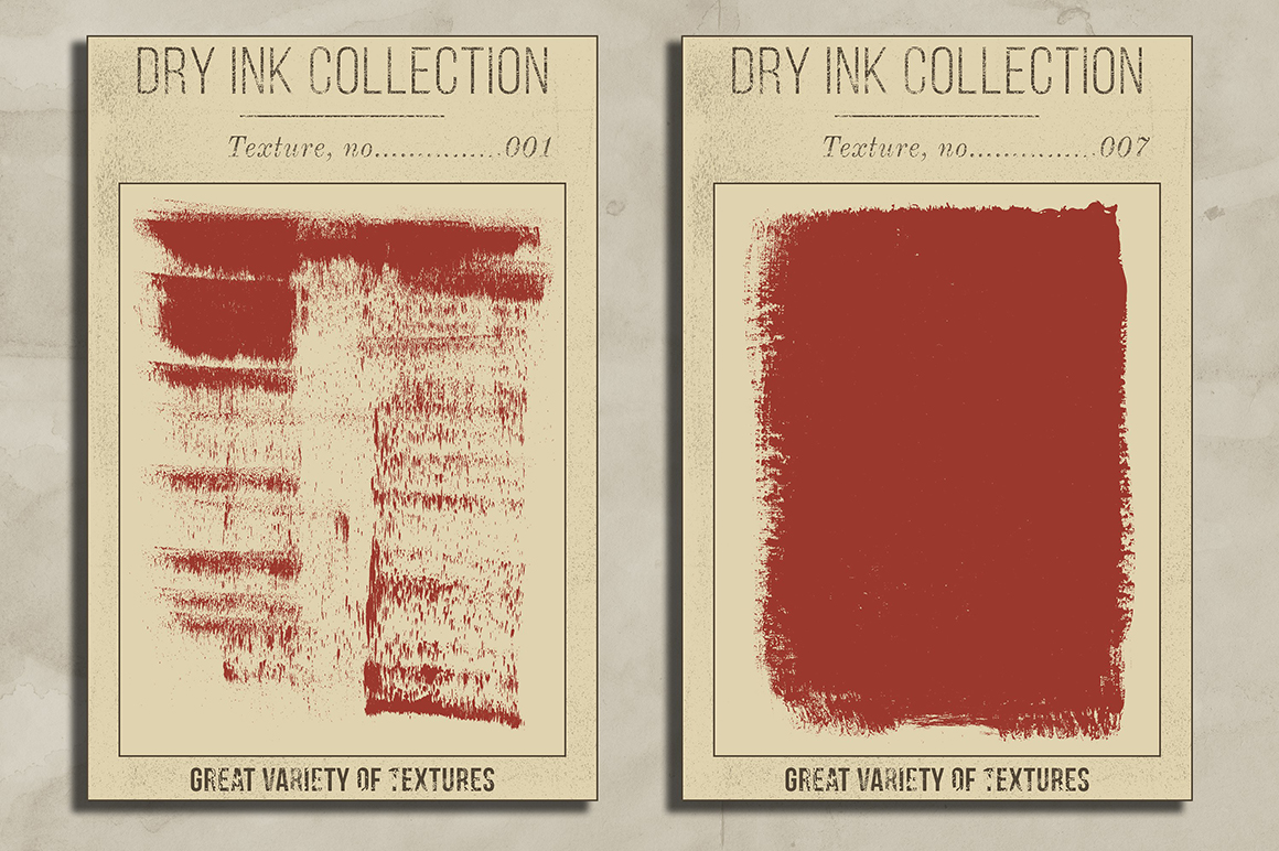 Dry Ink - Ultimate 100 Textures Pack