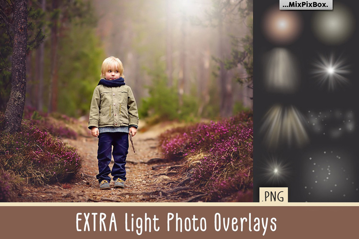 Extra Light Photo Overlays