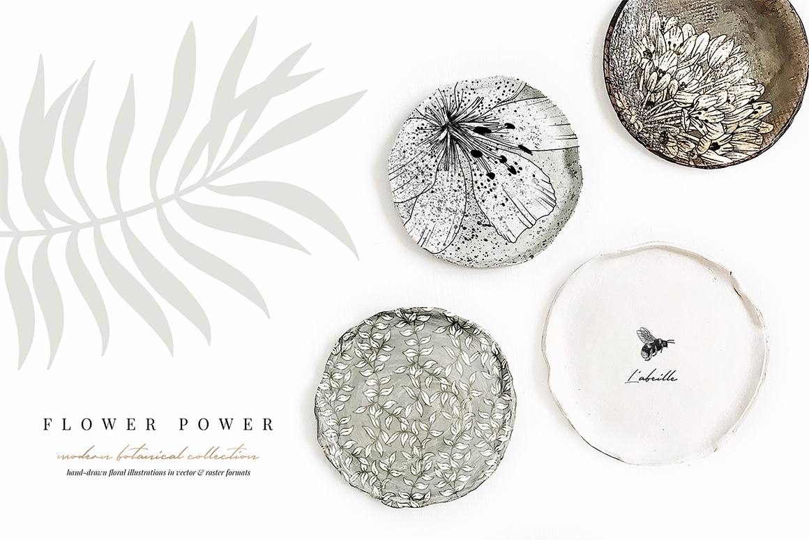 Flower Power - Botanical Illustrations
