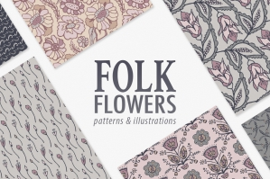 Folk-Floral-Patterns-And-Illustrations-cover