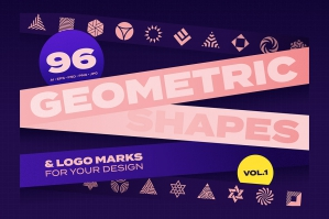 Geometric Shapes & Logo Marks Vol. 1