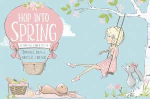 Hop-Into-Spring-Illustration-Kit-cover
