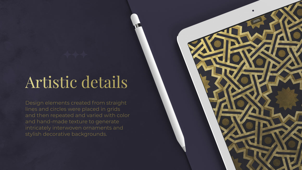 Islamic Ornaments: A Collection of 200 Patterns