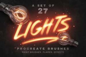 Lights-Procreate-Brushes-cover
