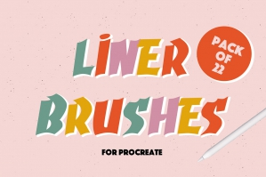 Liner Brushes For Procreate