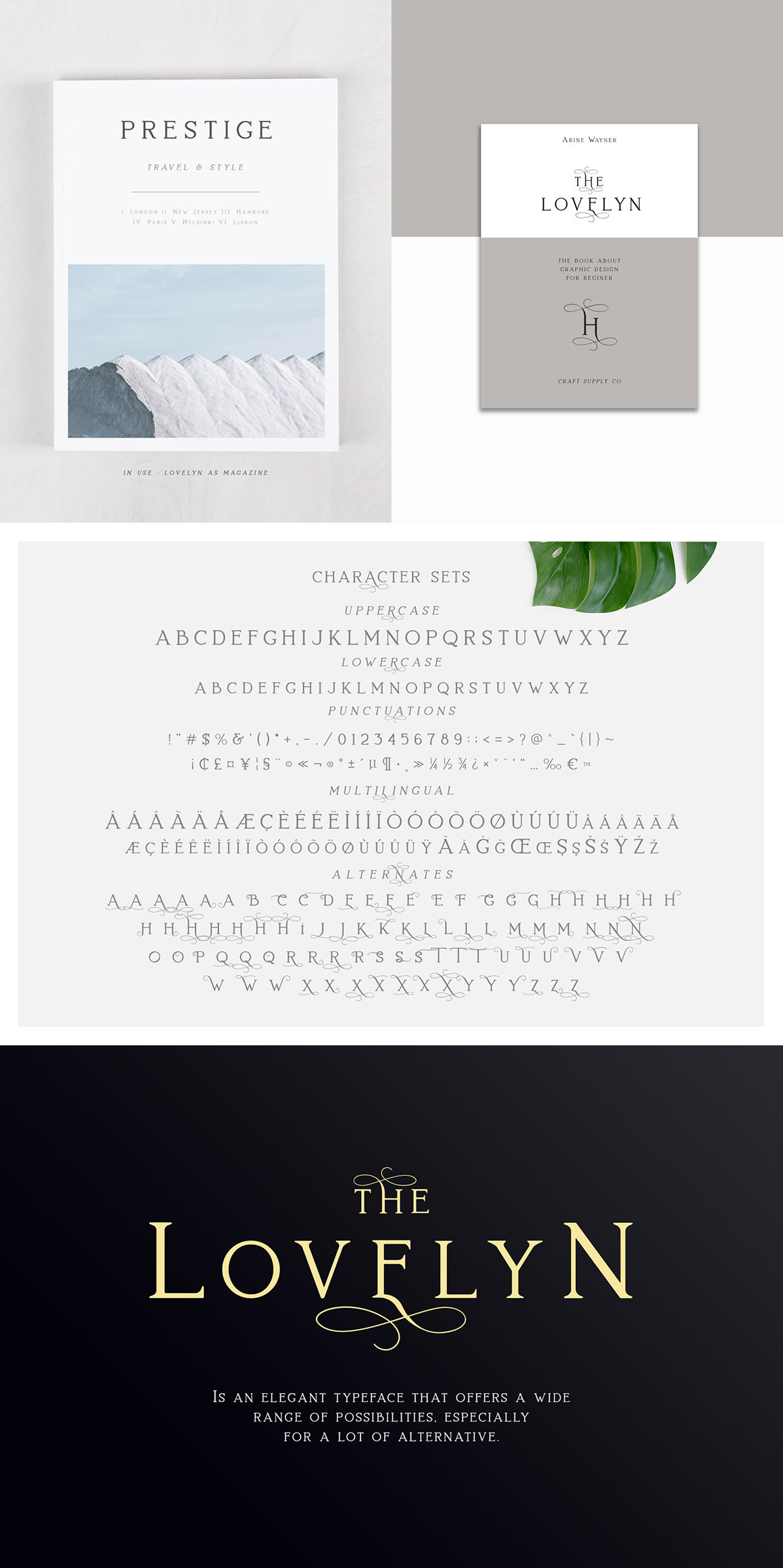 Lovelyn - Classy and Beauty Serif Font - Design Cuts