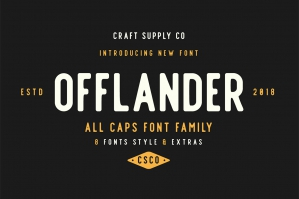Offlander-Font-Family-cover