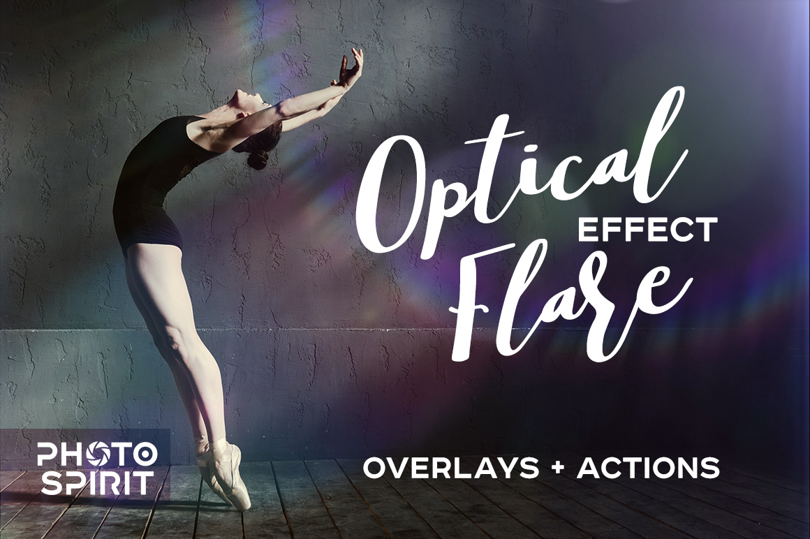 Optical Flare Overlay Effects and Actions