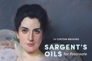 Sargent's Oils – Procreate Brushes