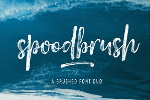 Spoodbrush-Font-Duo-cover