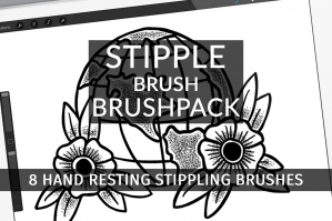 Stipple Brush Brushpack