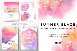 Summer-Blaze-Watercolor-Texture-Background-Pack-cover