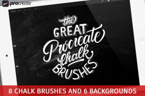 The-Great-Procreate-Chalk-Brushpack-cover