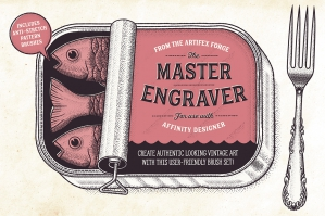 The Master Engraver - Affinity Brushes
