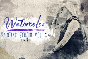 Watercolor Painting Studio Vol. 04