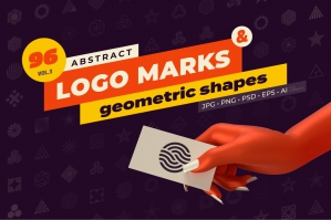 96-Abstract-Logo-Marks-Geometric-Shapes-cover