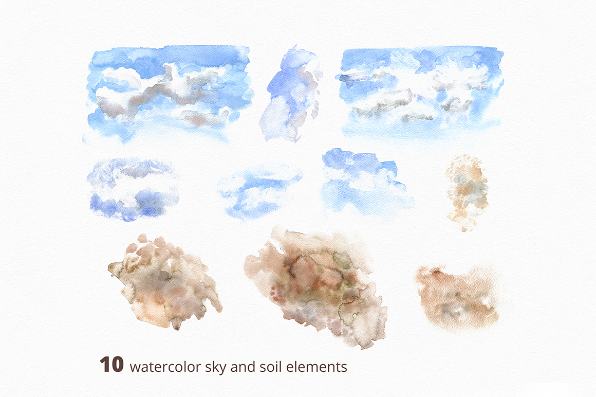 After Snow Watercolor Collection
