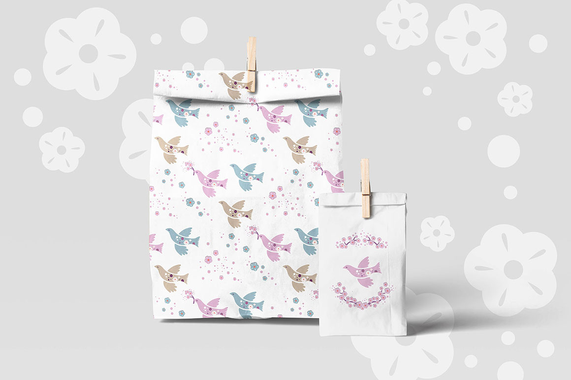 Cherry Blossom - Japanese Spring Graphic Set